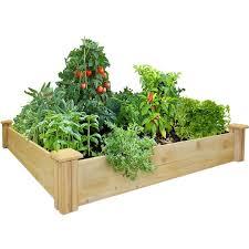 cedar raised garden kit