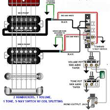 wiring page Split Coil Wiring Diagram 2hb_1vol_1tone_5way copy gif (45600 bytes) humbucker coil split wiring diagram
