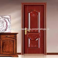 china 2016 brand new wood panel steel door design j02a005