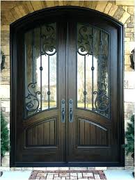 double front doors with beveled glass exterior entry a inviting wood