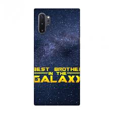 Amzer Designer Case Amzer Designer Case For Galaxy Note 10 Hd Printed Ultra Slim Back Cover For Samsung Galaxy Note10 Plus Best Brother In The Galaxy Walmart Com