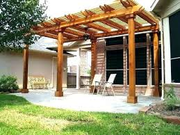 detached wood patio covers. Fine Wood How To Build A Wood Patio Cover Detached  Throughout Detached Wood Patio Covers