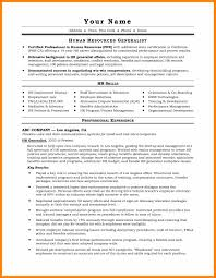 Human Voiced Resume Example Humanources Generalistume Sample Entry Level Amazing Examples 22