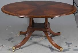 here is the round table without the leaves