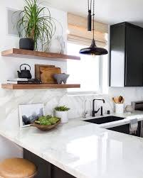 Concept Simple Modern Kitchen This And Those Hardwood Shelves Marble On Design