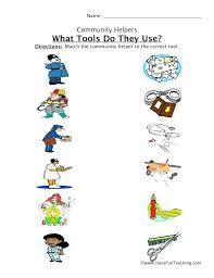 Community Helpers Worksheets For Kids Community Helpers Worksheet ...
