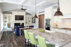 Kitchen islands lighting Hanging Lights Lighting Options Over The Kitchen Island Dailycarepakinfo Lighting Options Over The Kitchen Island The Chocolate Home Ideas