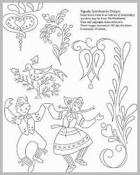 93 Best Pics Of Scandinavian Folk Art Coloring Book