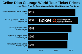 It's a physical ticket you can put around your neck and take. How To Find The Cheapest Celine Dion Tickets For Her Courage World Tour