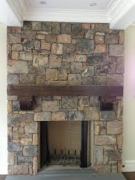 interior stone fireplace 2007
