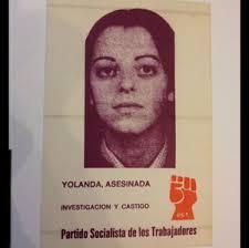 Tal día como hoy, 1 de febrero de 1980 hace 33 años, el fascismo mató en Alcorcón (Madrid) a la joven estudiante y militante del PST, Yolanda González ... - IMG_3187