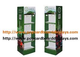 Tea Bag Display Stand Standing Cardboard Display Stand For Green Tea Lipton Tea Bag 29
