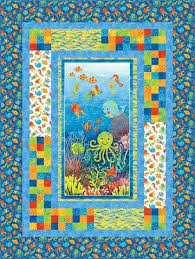 Panel Quilt Patterns Enchanting Idea For Panel Quilt Designs A Quilt 48th Board Pinterest