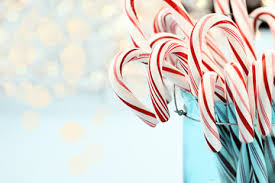 candy cane heart wallpaper. Plain Cane Candy Canes Against Blue Throughout Cane Heart Wallpaper R
