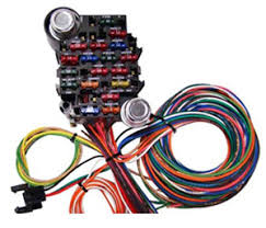 wiring kits, panels and power accessories universal wiring harness 12 circuit at Hot Rod Wiring Harness Kits