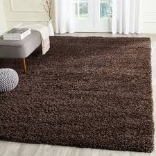 brown area rugs flanery dark rug terracotta cowhide in fashionable color the wooden houses image of round patterned high pile contemporary gray and