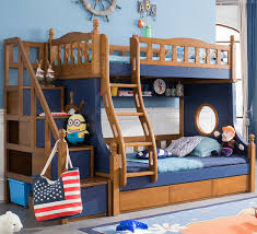 Webetop Nautical Style Kids Composite Bed Bedroom Furniture Set Kid Interesting Youth Bedroom Furniture For Boys Style