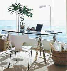 office desk glass. Furniture Small Glass Desk For Home Office Space Inside Plans 17 0