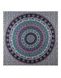 Dorm Bedding Decor Indian Mandala Bed Sheet Hippie Bedspread Dorm Bedding Bohemian