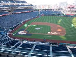 Nationals Stadium Seating Chart With Rows Washington Nationals Stadium Seating Chart Best Picture Of