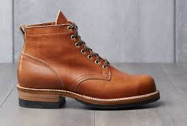 canadian boot maker viberg teamed up with washington based menswear boutique division road to release the horween heritage collection a selection of four