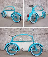 THE VW BEETLE BIKE BY CLYDE JAMES CYCLES - Rat Rod Bikes