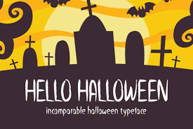 Free fonts for commercial use · new & fresh fonts · most popular fonts · alphabetic fonts · largest font families · trending fonts. Hello Halloween Font By Seemly Fonts Creative Fabrica