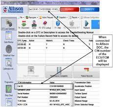 allison wtec iii & gen 4 5 hardware differences bustekhub Allison Shifter Wiring Diagrams Gen 3 allison doc cin numbers identify program in ecu tcm Allison Gen 4 Wiring Diagrams
