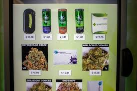 Zazzz Vending Machine New America's First Zazzz Marijuana Vending Machine Opens In Seattle