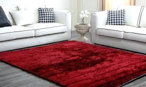 large red plush rug my decorative