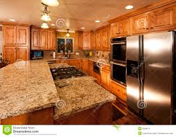 For New Kitchens Modern Home Kitchen Center Island Stock Photos Images Pictures
