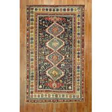 folk art antique shirvan rug