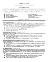 Resume Templates Office Assistant Unusual Administrative Word