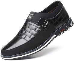 4 Colors Genuine <b>Leather Casual Men Shoes</b> Walking <b>Sneakers</b> ...