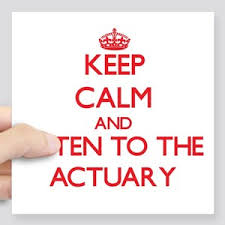 Actuarial Science Square Stickers Cafepress