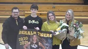 Senior Night Recognition at DCHS (View video here) - WJLE Radio