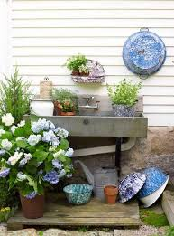 garden sinks. Potting Shed Sink. I\u0027m Hoping To Have Running Water And Electric In My Garden Shed. Inspire Bohemia: Benches, Sinks Tools C