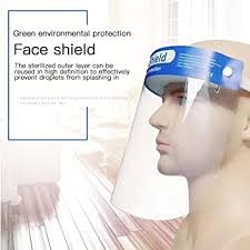 Petilleur Unisex Reusable Safety <b>Face Shield</b>, <b>Adjustable</b> ...