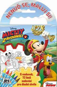 Omalovanky Na Cesty Mickey Mouse Levně Blesk Zboží