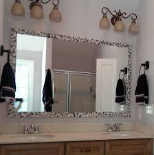 Purple Bathroom Mirror — Live In Mosaics