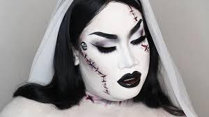 makeup ideas bride of frankenstein makeup bride of frankenstein makeup tutorial collab patrickstarrr