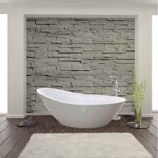 drench andreia acrylic white freestanding bath 1500 x 750mm