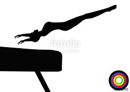 vault gymnastics silhouette. Olympics Gymnastics Vault Female Silhouette S