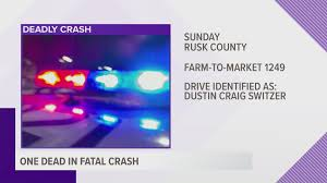 1 killed after being ejected from vehicle during Rusk Co. crash | cbs19.tv