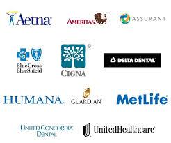 dental insurances we take