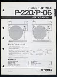 yamaha p 220 p 06 original stereo turntable service manual diagram image is loading yamaha p 220 p 06 original stereo turntable