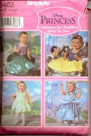 Halloween Costume Patterns Best Simplicity 48 Toddler Disney Princess Halloween Costume Pattern