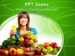 Powerpoint Templates Food Juice Vegetables And Fruits Food Powerpoint Templates And
