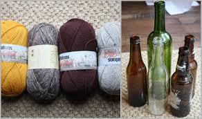 DIY I Tried: Yarn Wrapped Bottles