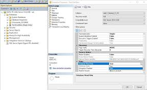 How To Change Database From Read Only To Read Write Mode In